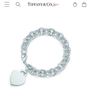 Tiffany Heart Bracelet ❤️